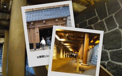 熊本城の本丸地下通路